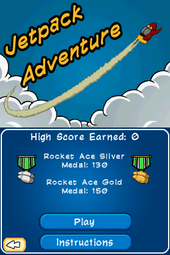 CPEPF Jetpack Adventure Title Screen