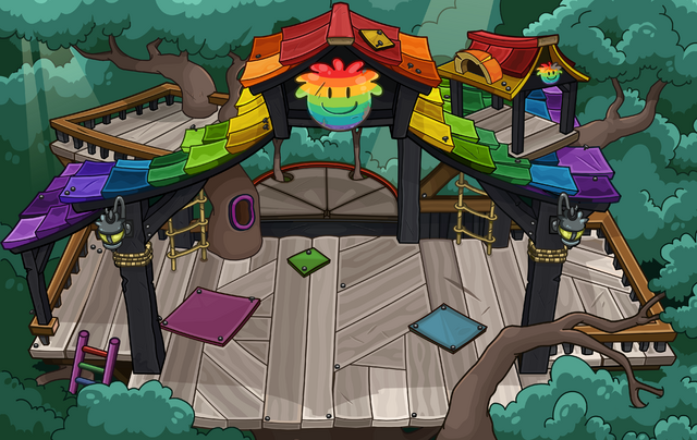 File:Rainbow Puffle Tree House sprite.png