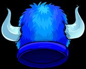 BlueFuzzyVikingHat