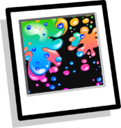 Neon Paint Splatter BG