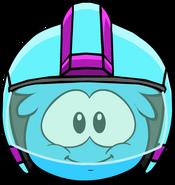 Quasar Helmet in Puffle Interface