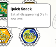 Quick snack stamp book