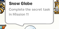 Snow Globe stamp