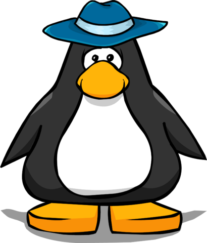 File:Blue Felt Hat from a Player Card.png