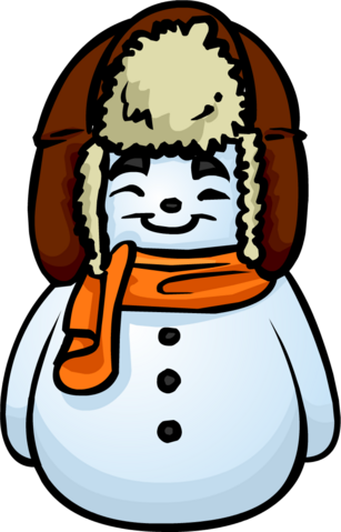 File:Orange Scarf Snowman furniture icon.png