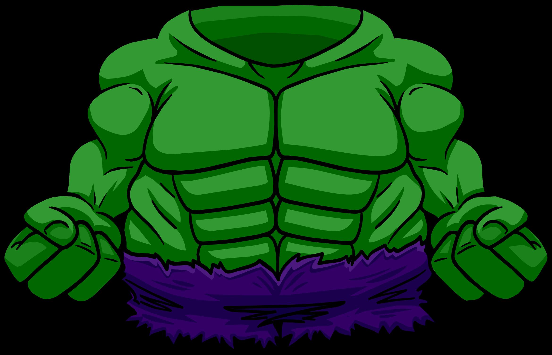 Hulk Bodysuit Club Penguin Wiki Fandom Powered By Wikia