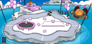 Puffle party iceberg