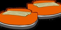 Pumpkin Sneakers