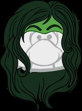 The She-Hulk clothing icon ID 1593