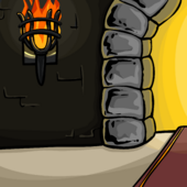 Castle Hallway Background