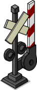 Railroad Crossing Sign sprite 003