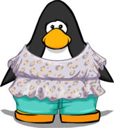 Boho Style Outfit from a Player Card