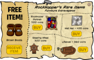 Rockhopper's Rare Items August 2008