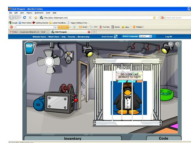 File:Club Penguin- Jay Shapes08 trapped in a cage Mission 10.JPG