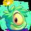 Green Alien Puffle