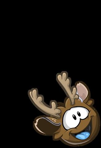 File:Brown PuffleReindeer.png