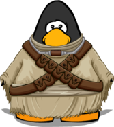 Tusken Raider Costume from a Player Card