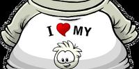 I Heart My White Puffle T-Shirt