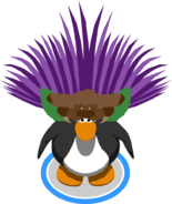 Grape Headdress In-Game