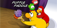 Puffle Paddle (Game Day!)