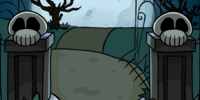 Haunted Mansion Background