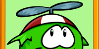 Green Puffle Poster