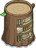 Stump Bookcase sprite 065