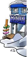 WinterPartySportShopExterior