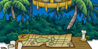 Adventure Camp Background
