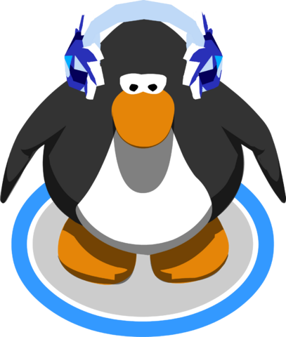 File:Crystal Puffle Earmuffs in-game.png