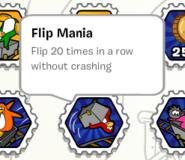 Flip mania stamp book