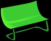 Green Bench sprite 006