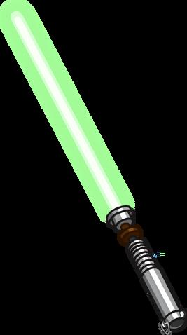 File:Lightsaber Green clean.png