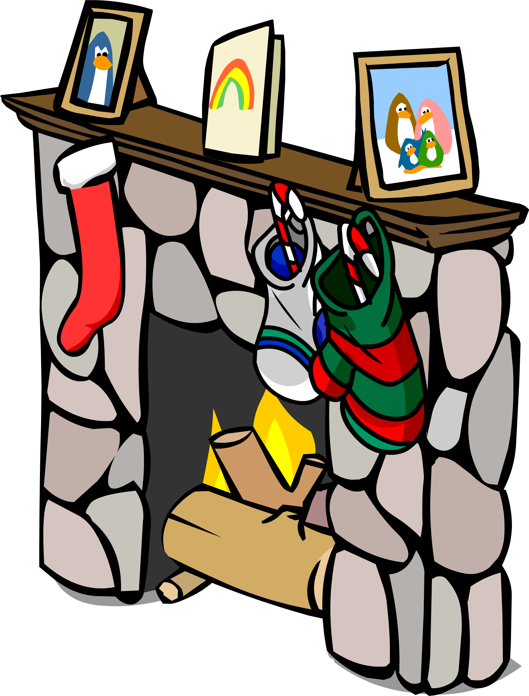 image fireplace sprite 018 png club penguin wiki fandom