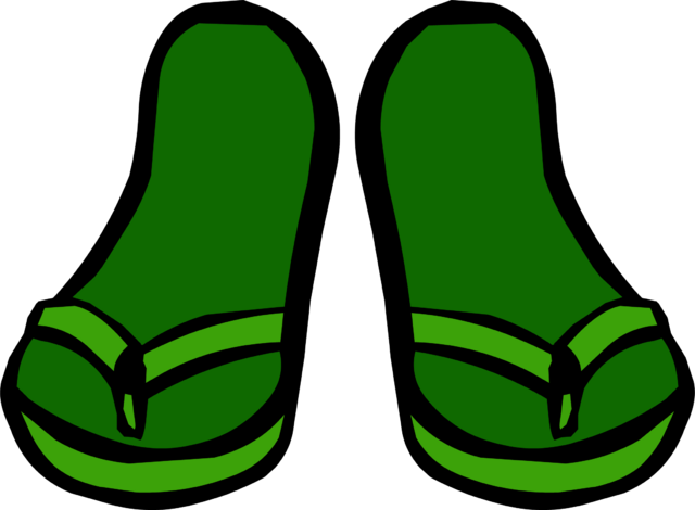 File:GreenSandals.png