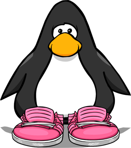 File:Neon Pink Sneakers PC.png