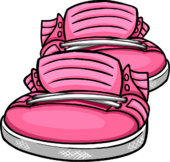 Neon Pink Sneakers icon