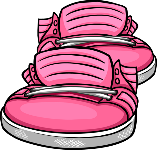 File:Neon Pink Sneakers icon.png