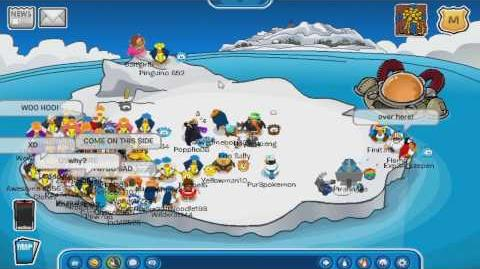 Iceberg Tipper! Club Penguin 5 (Waddle On Party)