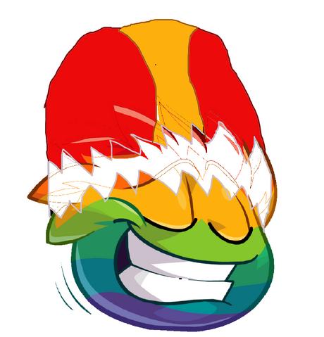 File:Rainbow Yoshi puffle.png