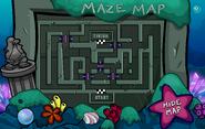 Underwater Maze Map Open