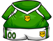 Green Soccer Jersey clothing icon ID 4088