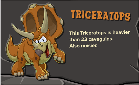 File:Orange Triceratop.png