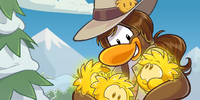 PH's Hat (Golden Puffle)