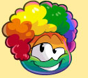 Rainbow Puffle Fro The Fair 2015 login screen
