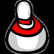 Puffle Bowling bowling pin
