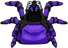 Purple Spider Costume