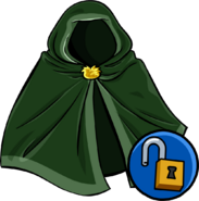Green Hooded Cloak unlockable icon