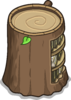 Stump Bookcase sprite 052