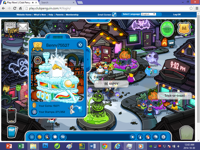 File:Club Penguin—Halloween Party 2014—Grave Icon Olaf Player Card Glitch During Halloween Party 2014—Part 3—Benny75527.png